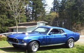 1969 Mustang Fastback
