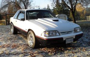 Drag Built Mustang